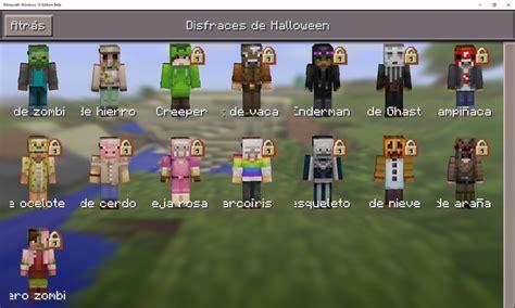 imagenes de minecraft windows 10 minecraft windows 10 edition beta recibe el pack halloween