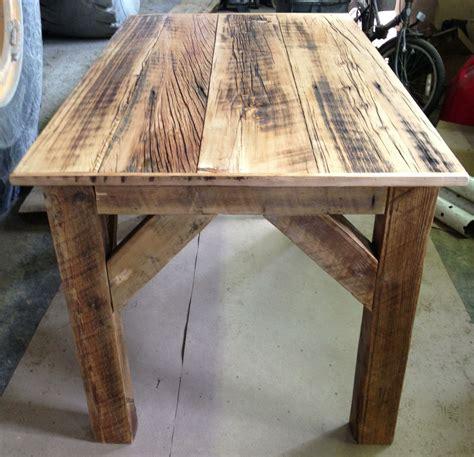 homemade barn wood desk  michelles studio desks