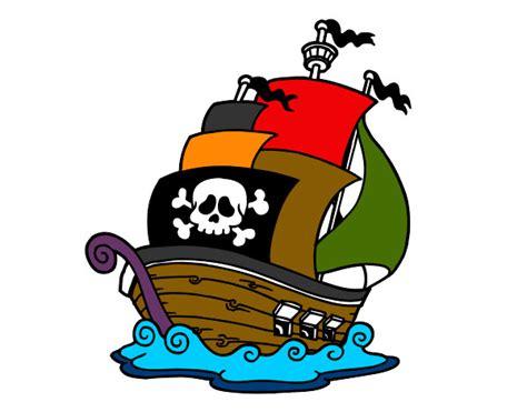 barco dibujo infantil dibujo barco a color imagui