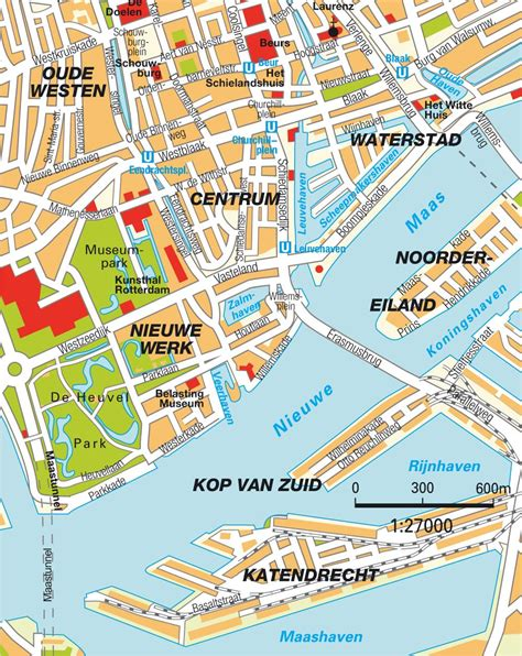 rotterdam netherlands on map map rotterdam zuid netherlands maps and
