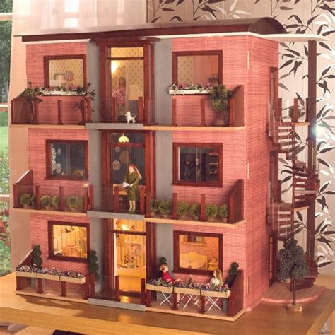 doll house builder a dollhouse apartment building grandma s crafts and diy pinte