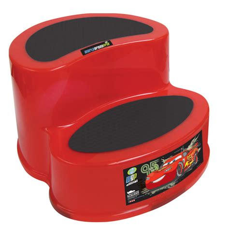 step stool for car 2 step disney cars step stool potty concepts