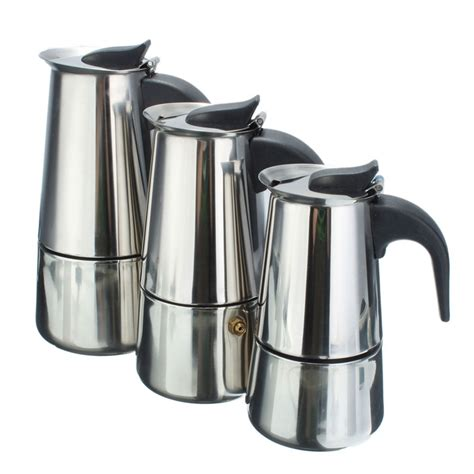 Coffee Maker Tea Maker Akebonno Zj 200 100 200 300ml coffee tea pot moka coffe pot coffee extractor italian stainless steel espresso