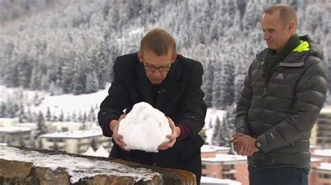 hans rosling davos davos the state of the world in seven snowballs bbc news