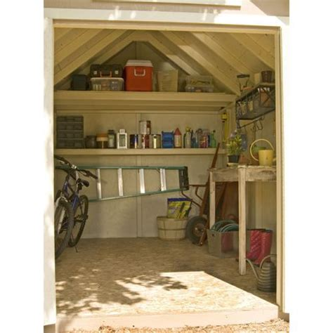 Everton 8 X 12 Wood Storage Shed everton 8 x 12 wood storage shed creating outside