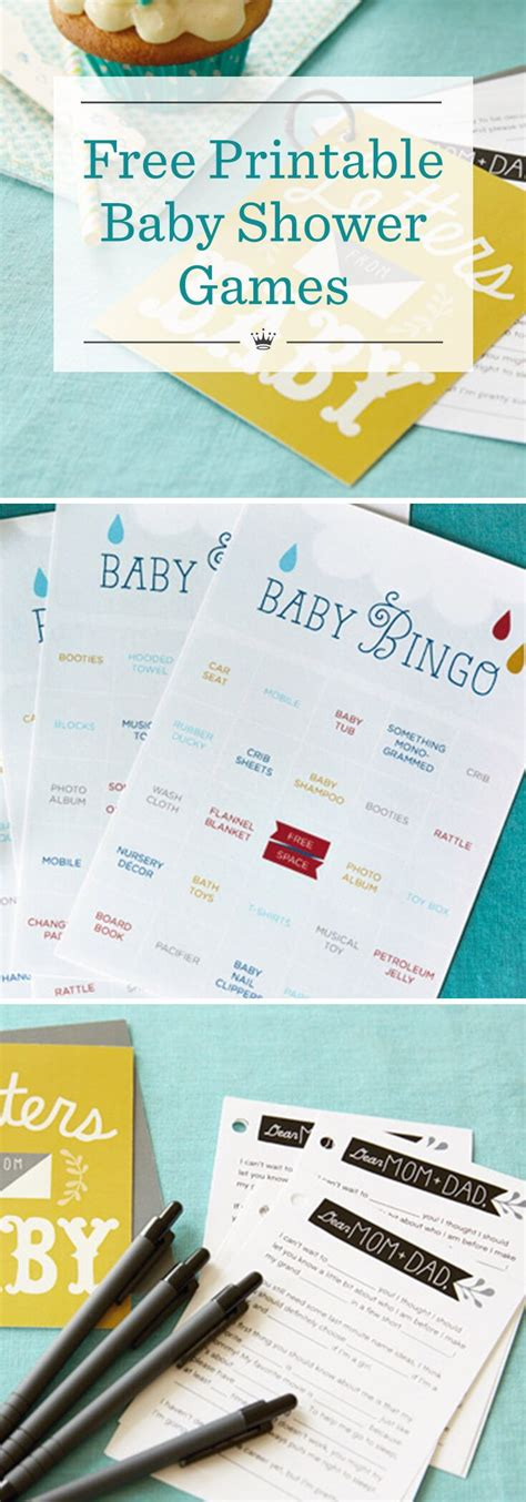 Free Printable Baby Shower Ideas by Free Printable Baby Shower Baby Keepsake Book