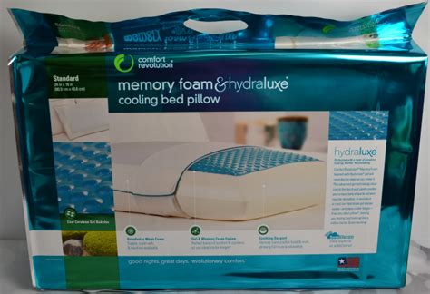comfort revolution com comfort revolution cooling bed pillow famchristmas it s
