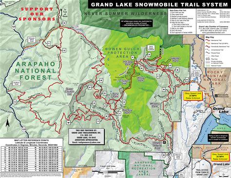 grand map trails trail maps grand lake trailgroomers