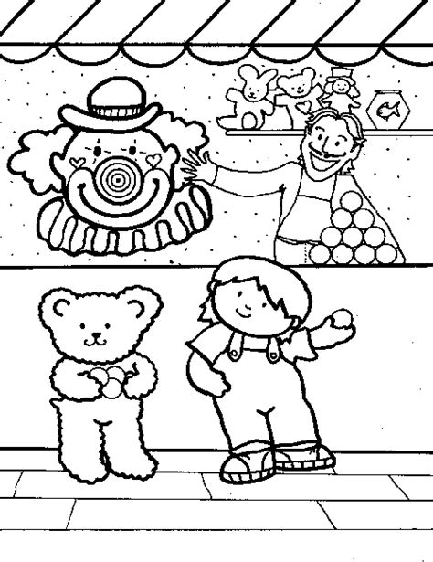 coloring pages of carnival games adult coloring book fair coloring pages