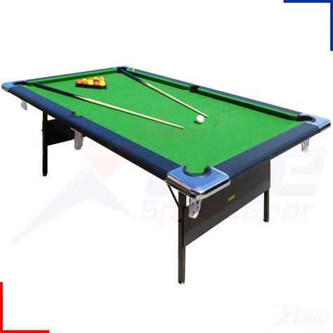 fold up pool 7ft hustler professional english home pool table folding
