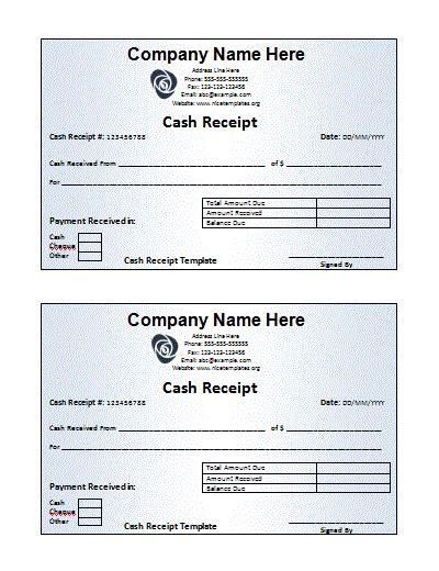 free receipt book template receipt book templates 10 free printable word excel
