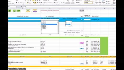 features added  task tracker spreadsheet youtube