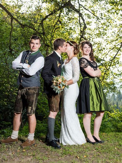 Brautfrisur Trachtenhochzeit by Trachtenhochzeit Mit Rustikalem Chic Trauzeugen