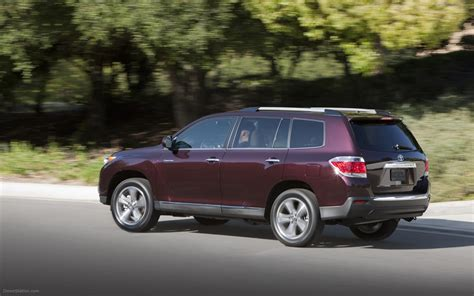 Toyota Highlander 2011 Toyota Highlander 2011 Widescreen Car Photo 11 Of
