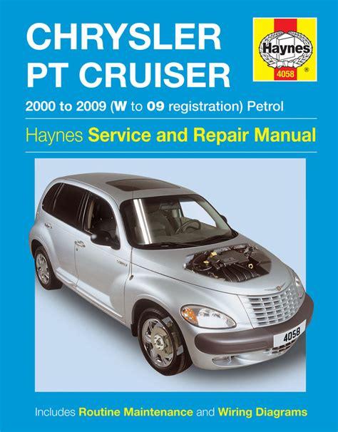 car engine repair manual 2004 chrysler pt cruiser seat position control haynes workshop repair manual chrysler pt cruiser 00 09 w to 09