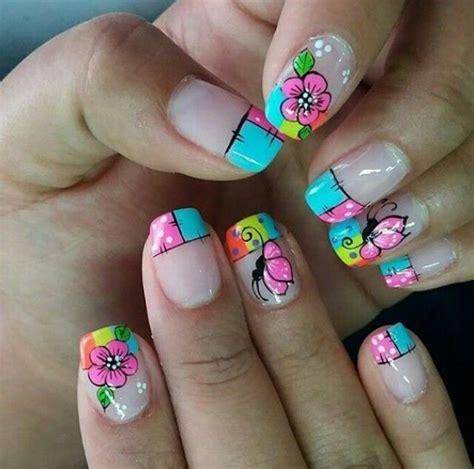 imagenes de uñas hermosas pintadas unasdecoradas u 241 as lindas pinterest dise 241 os de u 241 as