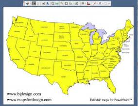 us map editable maps for design editable clip powerpoint maps part