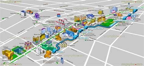 las vegas map maps update 14882105 vegas tourist attractions map las