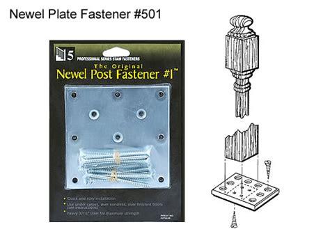 Installing Banister Newel Post Fasteners