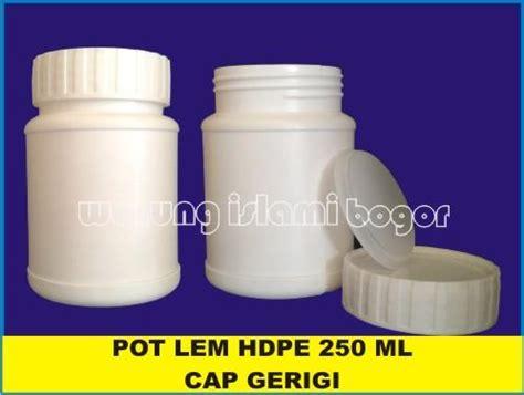 Dijamin Wadah Kotak Penyimpanan Makanan Isi 7 Pcs jual botol pot jar hdpe lurus lem kencleng kotak infaq ukuran 250ml tutup bergerigi