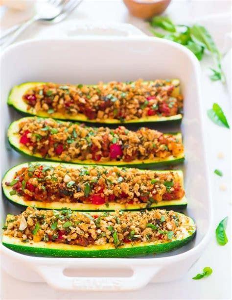 stuffed zucchini boats turkey sausage zucchini boats with italian turkey sausage and parmesan