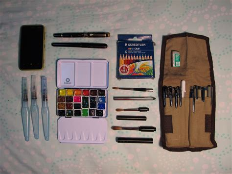sketchbook kit sketchpacker diaries travel sketching kits