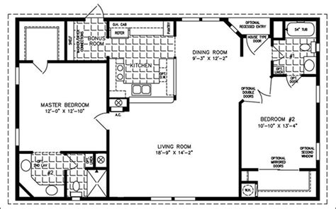 Cabin Open Floor Plans by Easy Barndominium Floor Plans Cad Pro