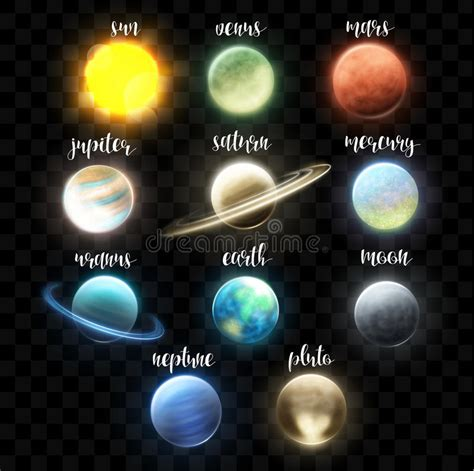 taking a stock of space lighting and design in your set realistic bright planets light cosmic effects solar