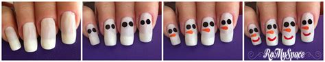 tutorial nail art pupazzo di neve nail art pupazzo di neve www romyspace it