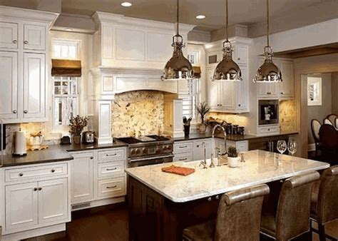 25 KITCHEN REMODEL IDEAS  .   Godfather Style