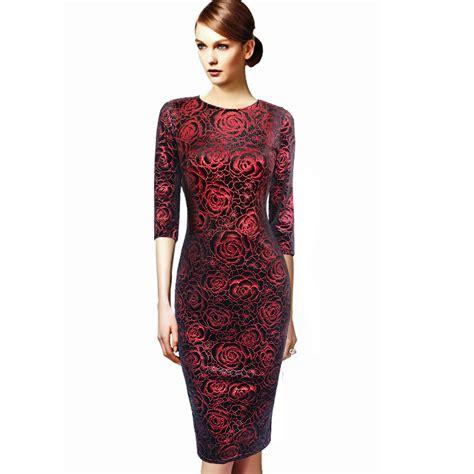 Dress Rauna Rk 042 Size Xxxl womens dress vestidos velvet flannel floral print vintage fitted casual dress