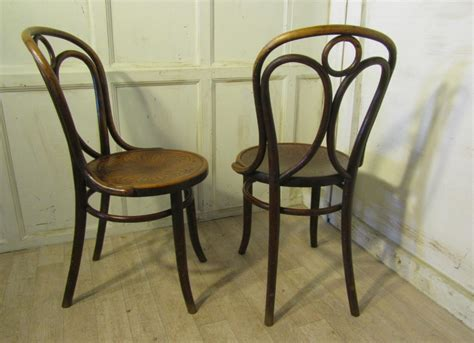 bentwood bistro chairs uk set of 4 thonet bistro bentwood chairs 275594