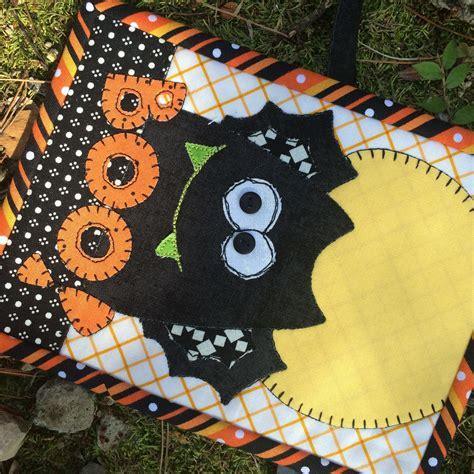 bat rug boo bat mug rug pdf downloadable pattern stitches of