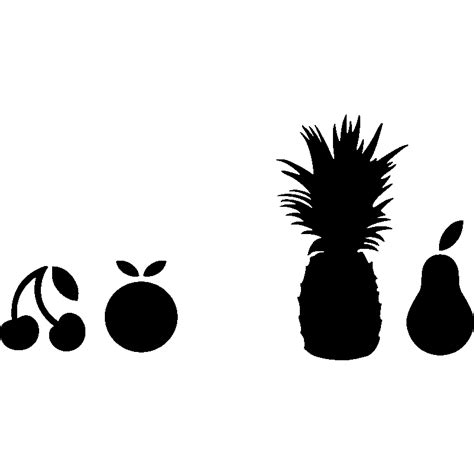 3d salle de bain 3439 mac stickers pomme et les fruits