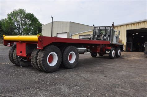 Bed Trucks by Winch Bed Truck Steer 110 000 Planetary Rears