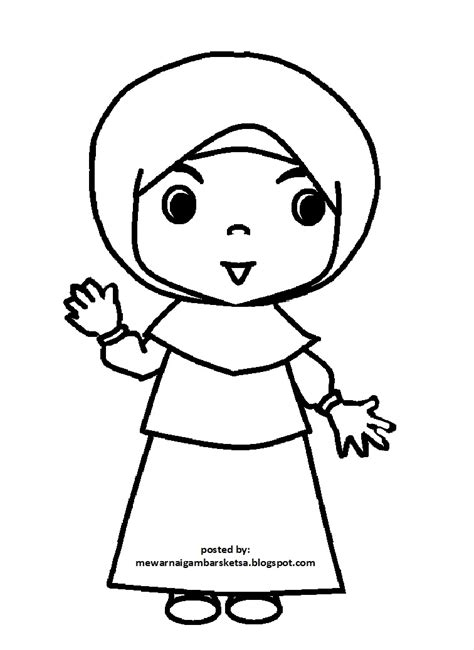 Kata Kata Bijak: gambar kartun anak sekolah sd muslim