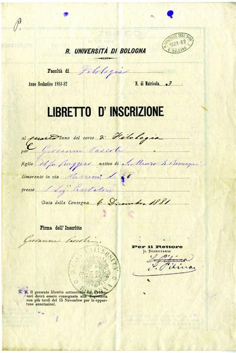 facolta di lettere bologna da studente a professore pascoli a bologna