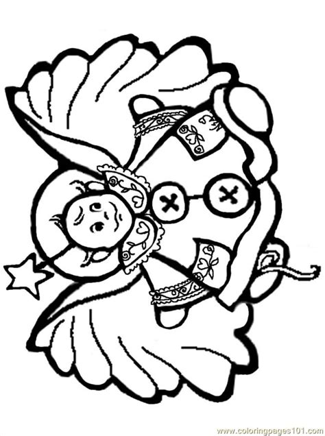 coloring pencil baby angel coloring coloring pages