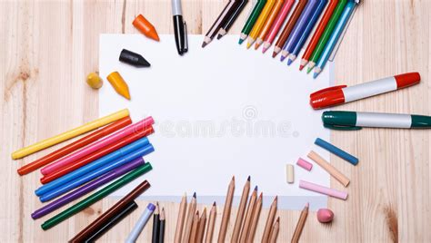 5 Drawing Materials by Drawing Materials Stock Photo Image 50772669