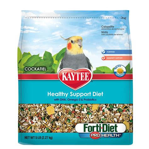 kaytee forti diet pro health cockatiel food petsolutions