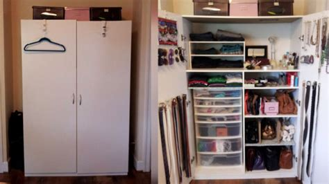 Organizing A Small Closet With Lots Of Clothes by Apartment Door Baskets Tiny Apartment Storage Small Space
