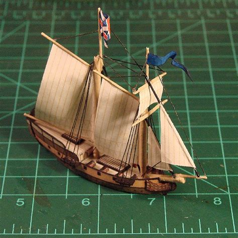 How To Make Ship Models In Paper - sailboat enterprise free ship paper model