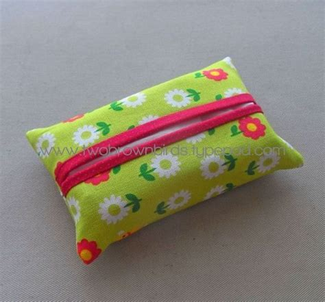 Tissue Holder Pattern Free | easy tissue covers sewing ideas pinterest