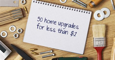 Small Home Upgrades 50 Small Home Upgrades You Can Do For 1 Or Less