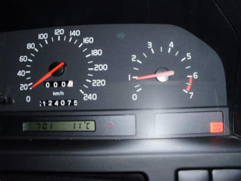 volvo 850 service light reset car