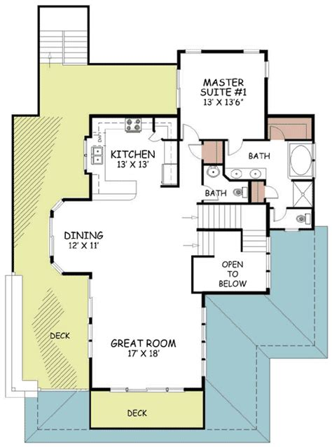 coastal living floor plans contemporary coastal living 13019fl architectural
