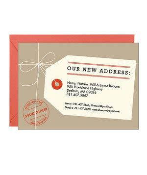 moving announcement card template paper source shipping tag moving announcement 13 moving