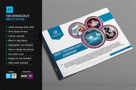 Technology Brochure Template by Free Information Technology Brochure Sle 187 Designtube
