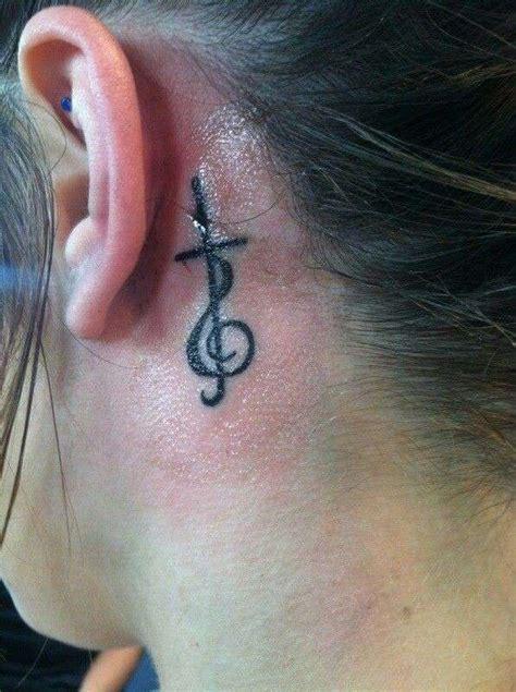 imagenes tatuajes detras de la oreja tatuajes de mujer fotos dise 241 os de cruces 12 40 ellahoy