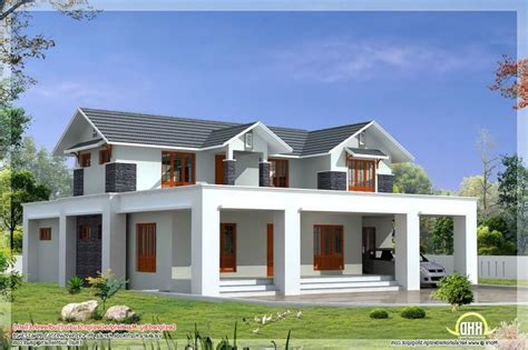october 2012 kerala home design and floor plans flat roof house elevation photos in kerala style